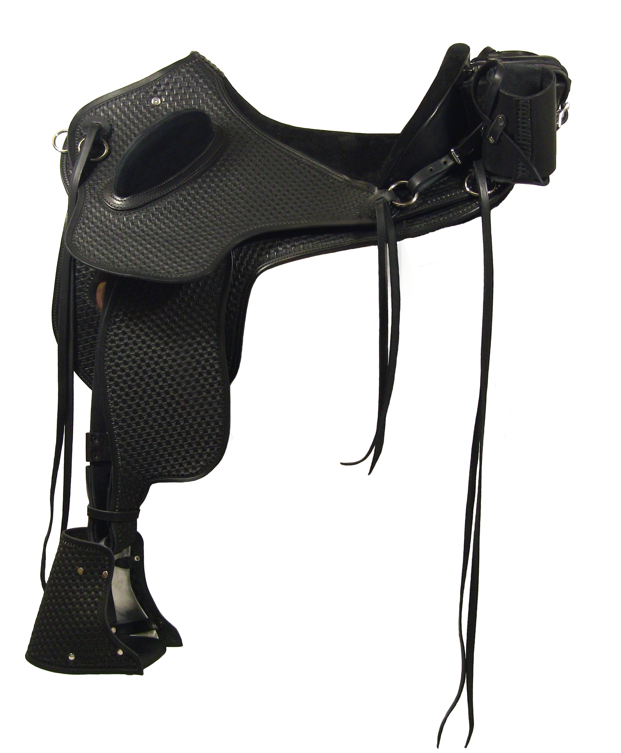 Ansur Roo treeless saddle #HA25JC