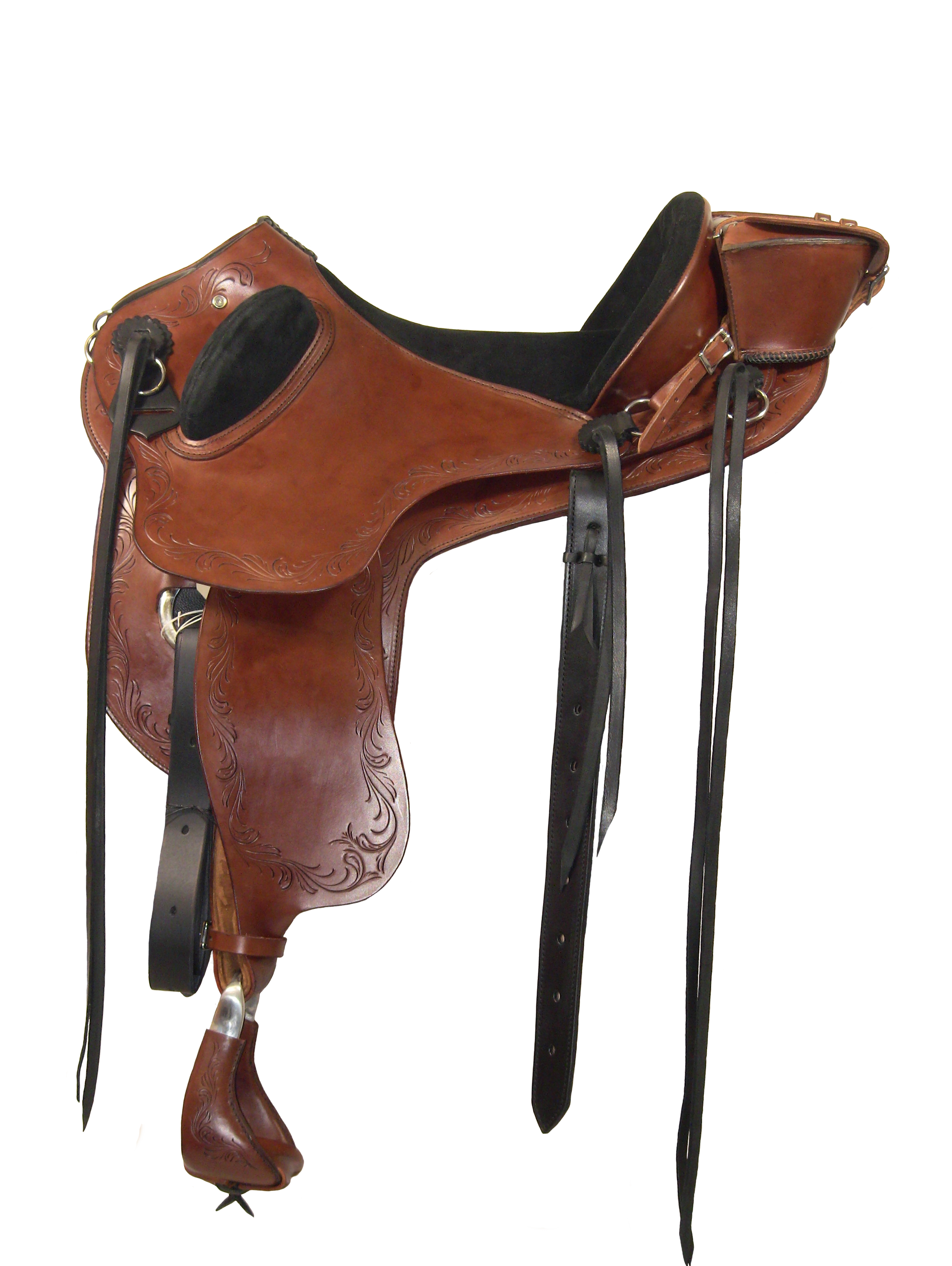 Ansur Roo treeless saddle #HD22JC